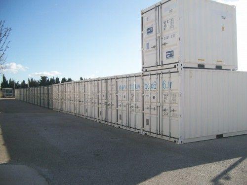 Parc de containers Mouvbox Perpignan