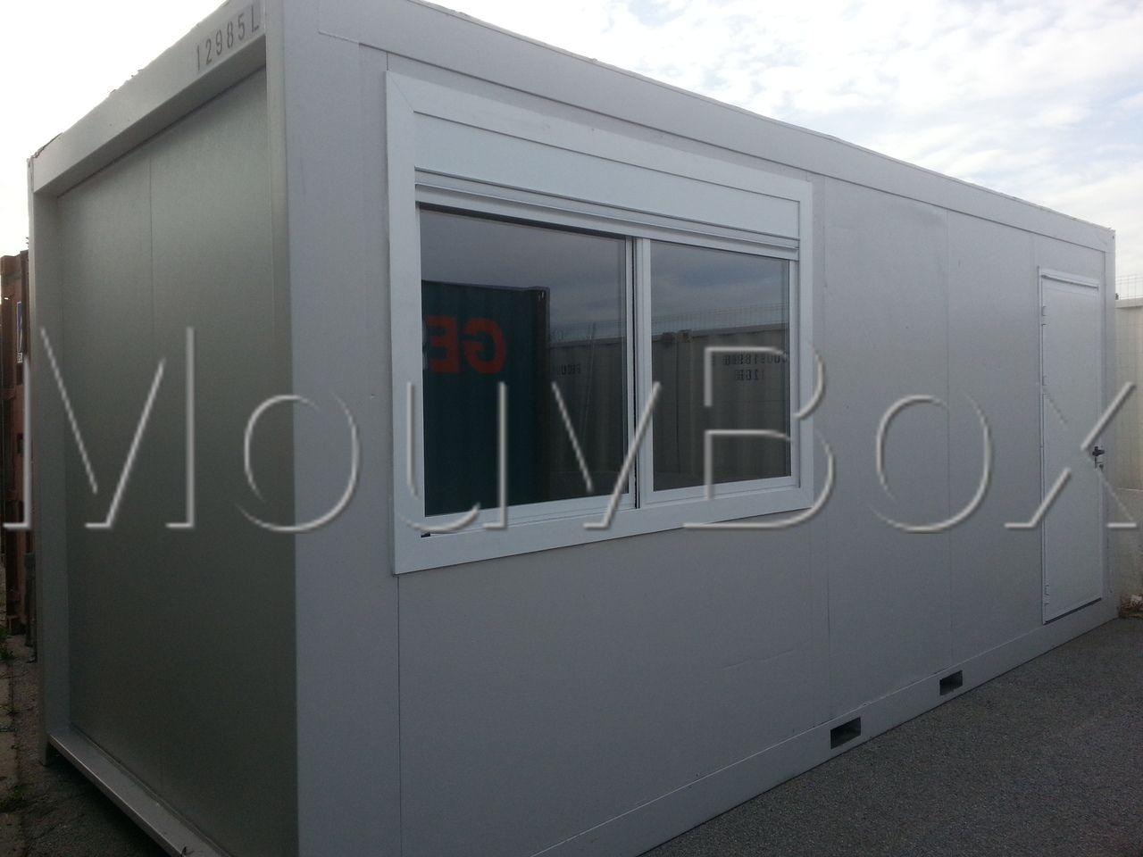 MOUVBOX FRANCE | BâtiModule bureau 20′
