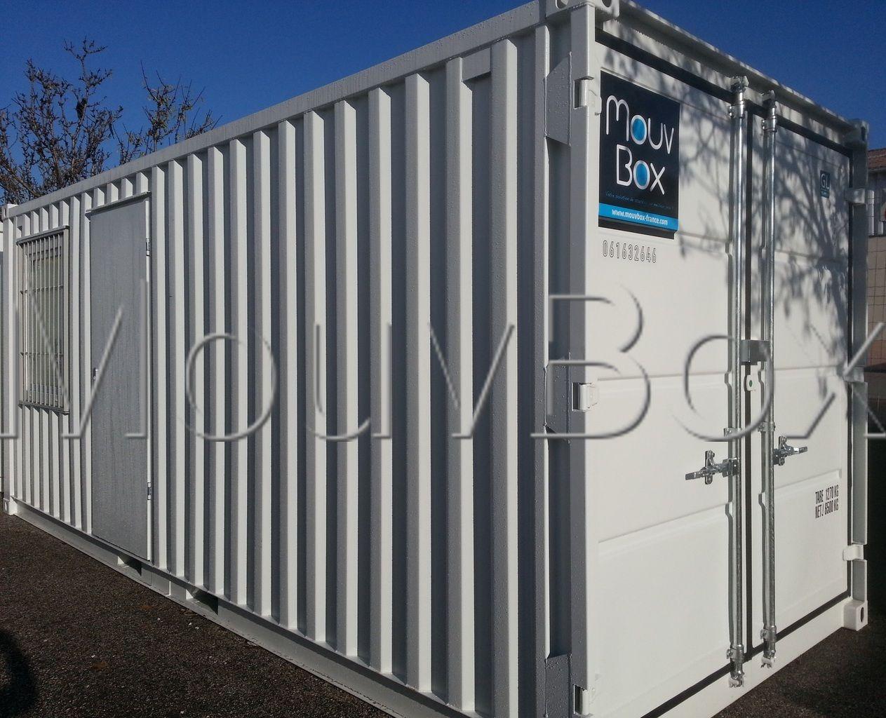 Mouvbox france conteneur container dry neuf bureau stockage