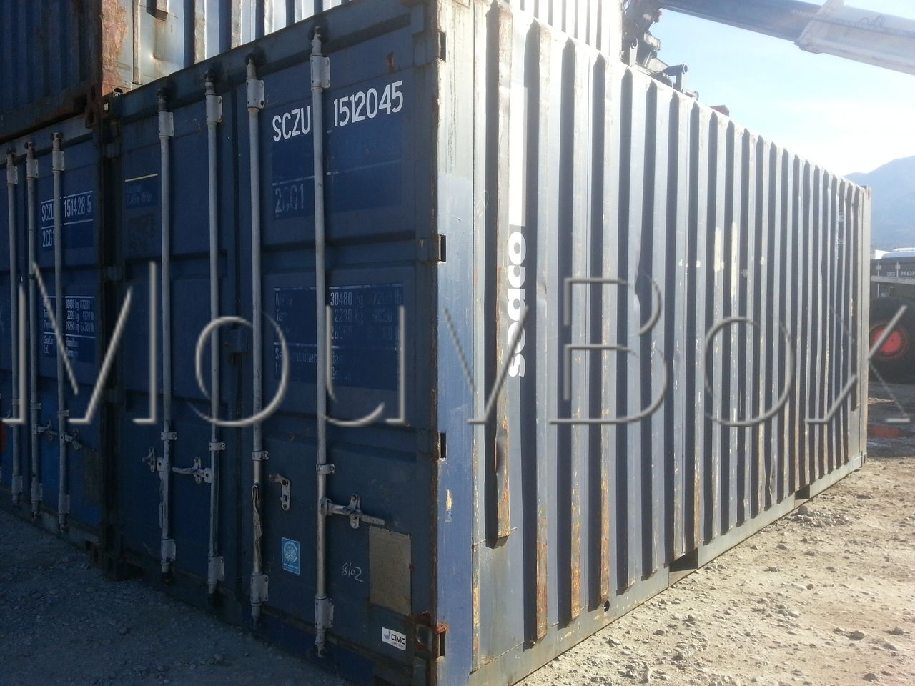 Mouvbox france 20 xxl sp cial euro palettes for Achat container d occasion
