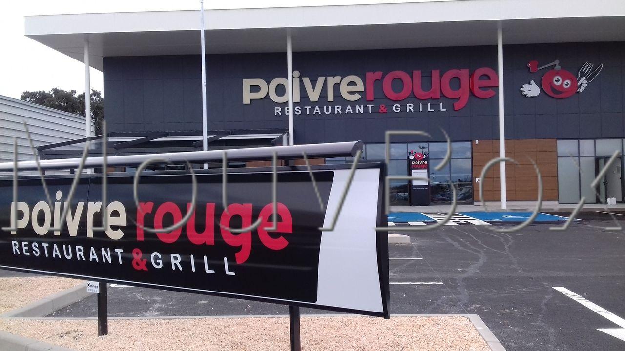 mouvbox france restaurant grill poivre rouge argel s sur mer. Black Bedroom Furniture Sets. Home Design Ideas