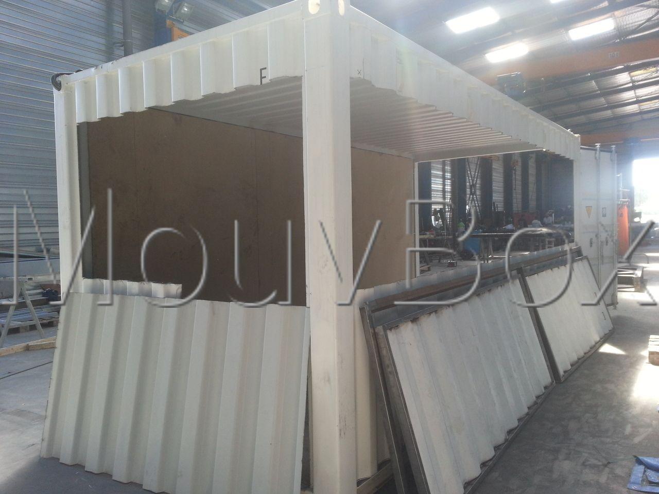 Mouvbox france transformation conteneurs en direct des for Transformation conteneur