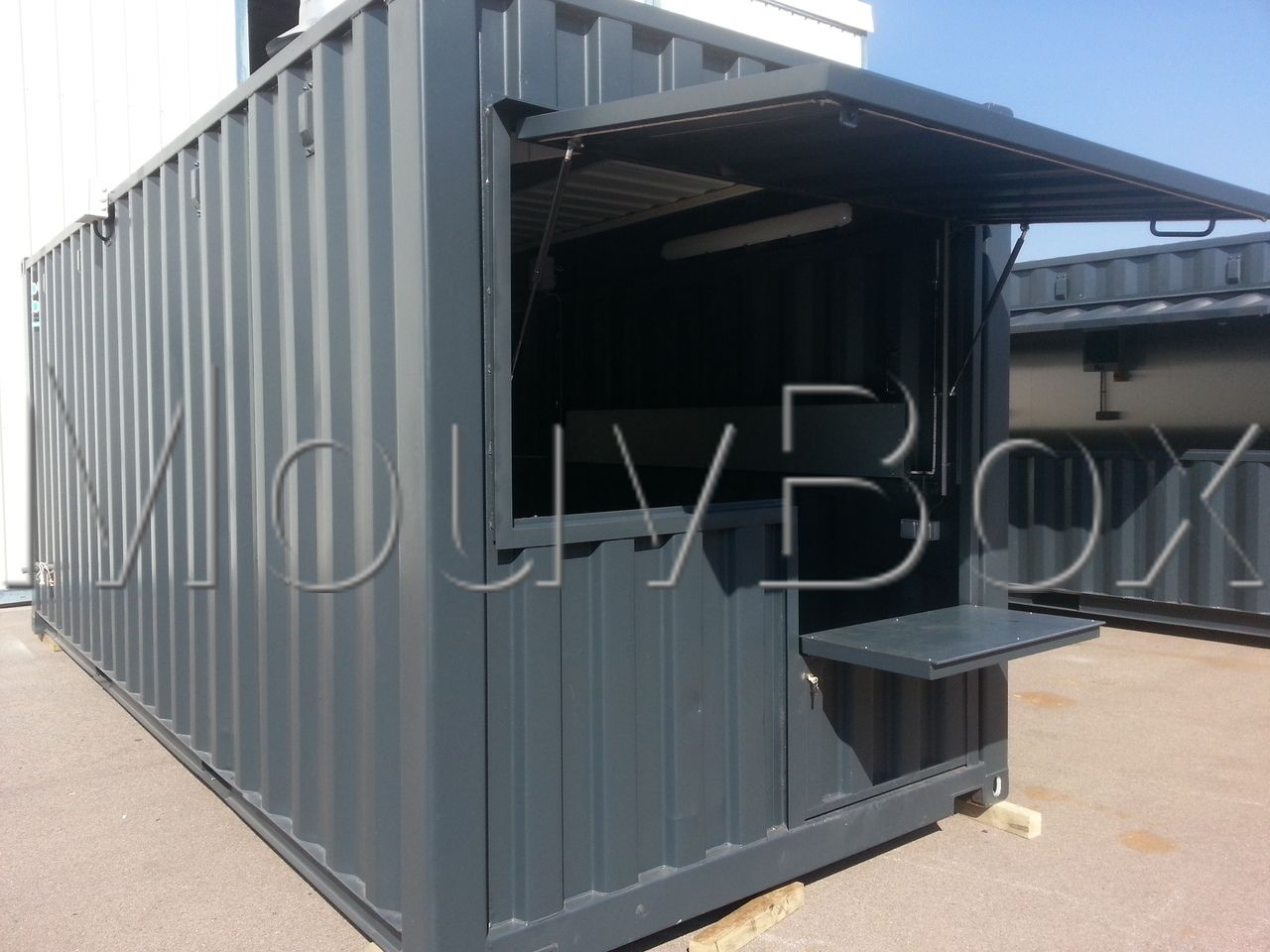 comment transformer un container en habitation awesome comment transformer un container en. Black Bedroom Furniture Sets. Home Design Ideas