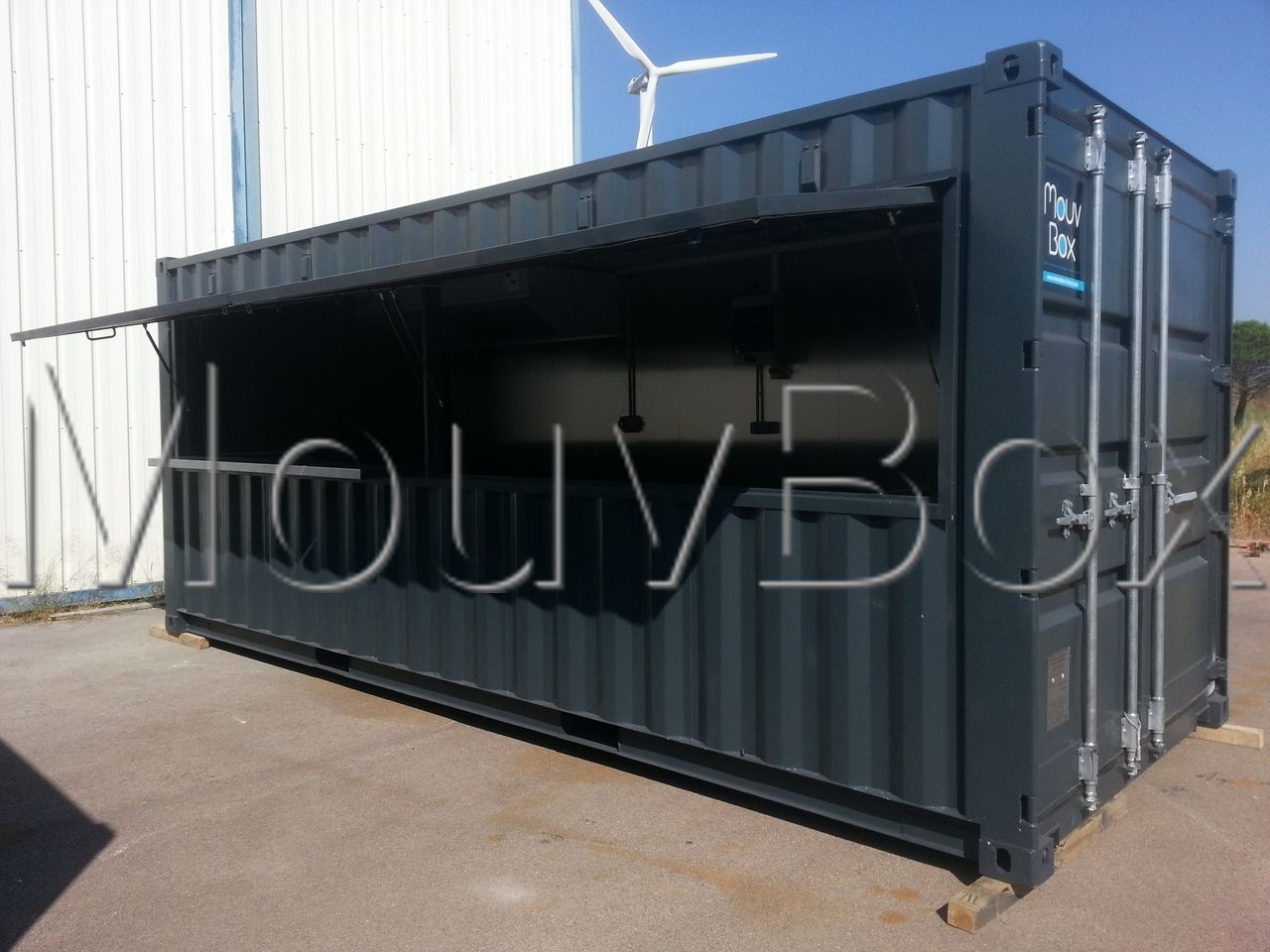 Mouvbox france transformation conteneurs en direct des for Container conteneur