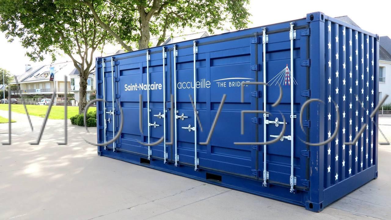 Mouvbox france the bridge la transat du centenaire for Container conteneur