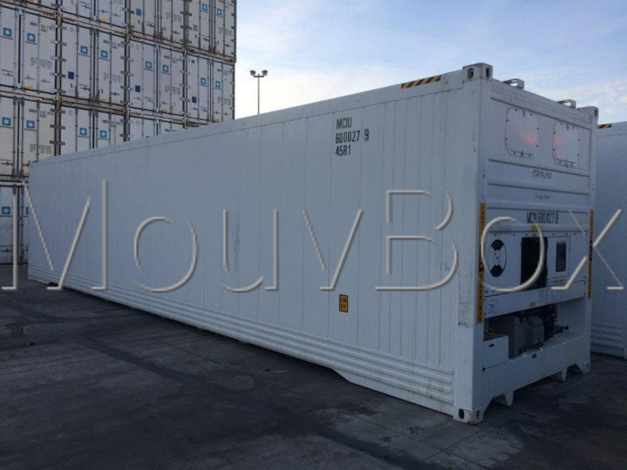 Mouvbox france exceptionnel 14 conteneurs reefer 40 for Container conteneur