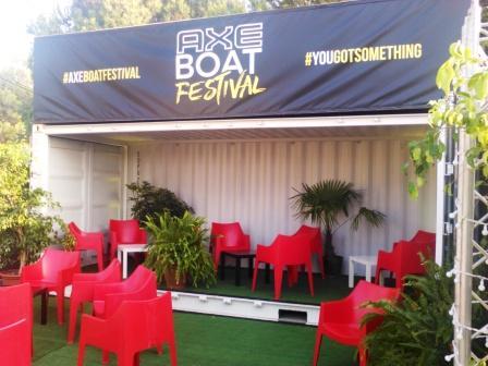 Espace VIP festival Perpignan, location container événementiel