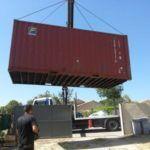 aménagement container 20 pieds