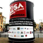 Visa pour l'image, conteneur maritime, container stand