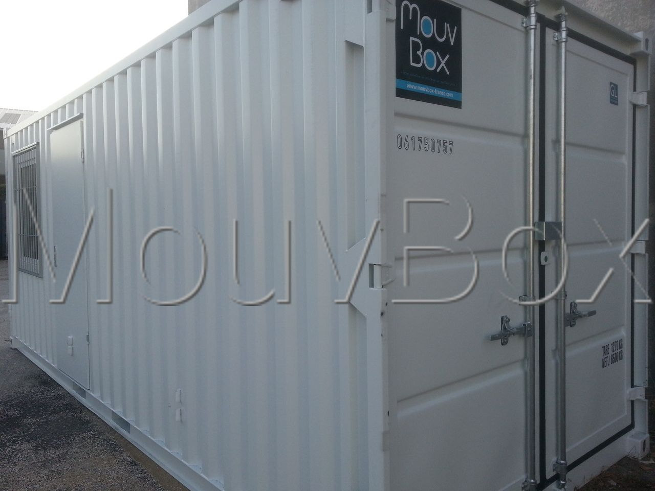 mouvbox france container 20 dry neuf bureau stockage. Black Bedroom Furniture Sets. Home Design Ideas