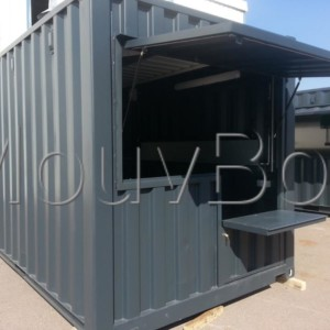 pop up store container
