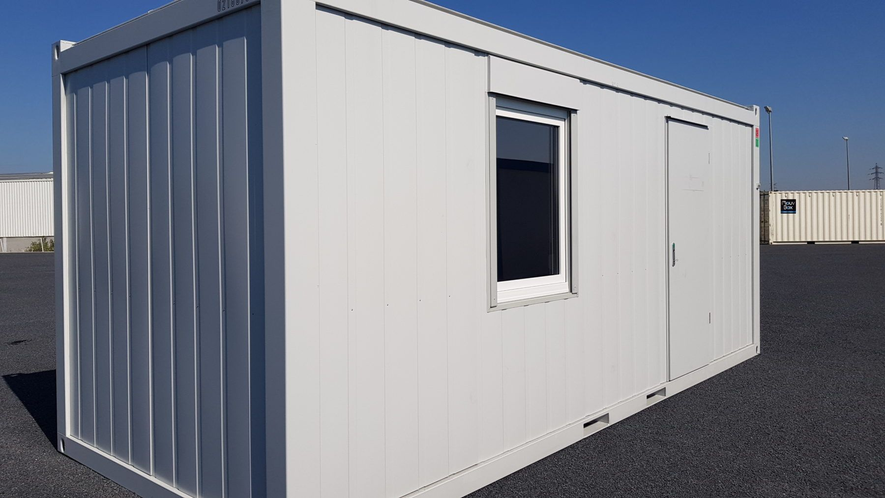 MOUVBOX FRANCE | BâtiModule bureau 20′ (6m)