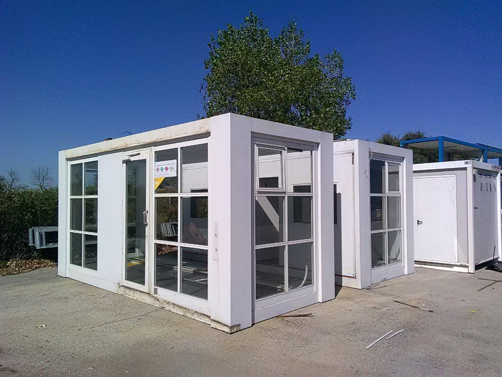 Mouvbox france b timodule bureau 2 x 20 6m x - Bungalow bureau de vente ...