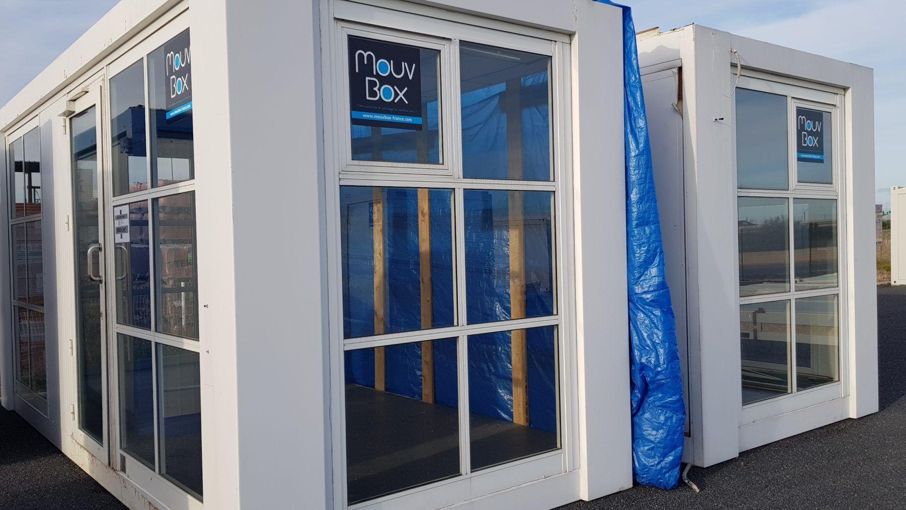 MOUVBOX FRANCE | BâtiModule bureau 2 x 20′ (6m x 2 50m)