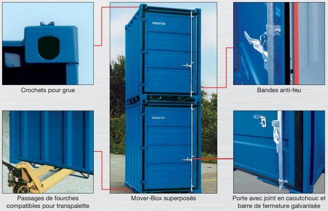 détail technique Mover box