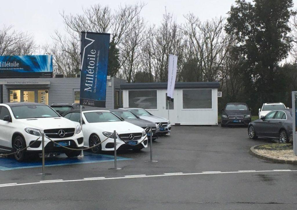 Bulle de vente MouvBox pour Mercedes Toulouse