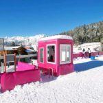 guerite-poste de garde-cabine-pour station de ski