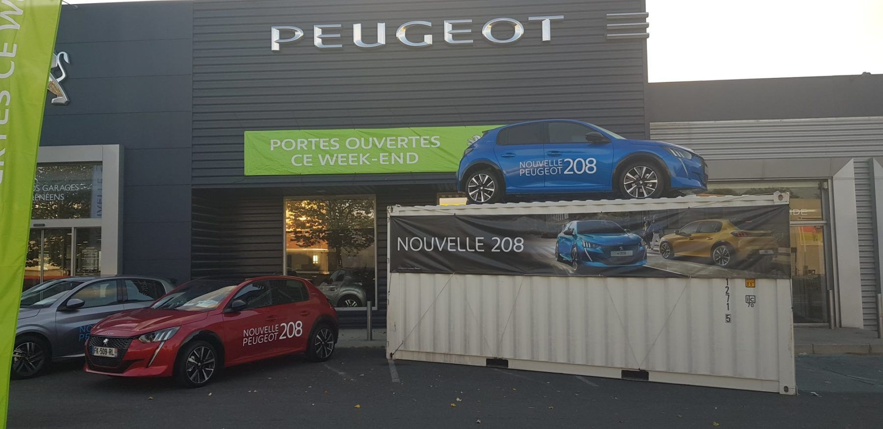 container-peugeot-Perpignan