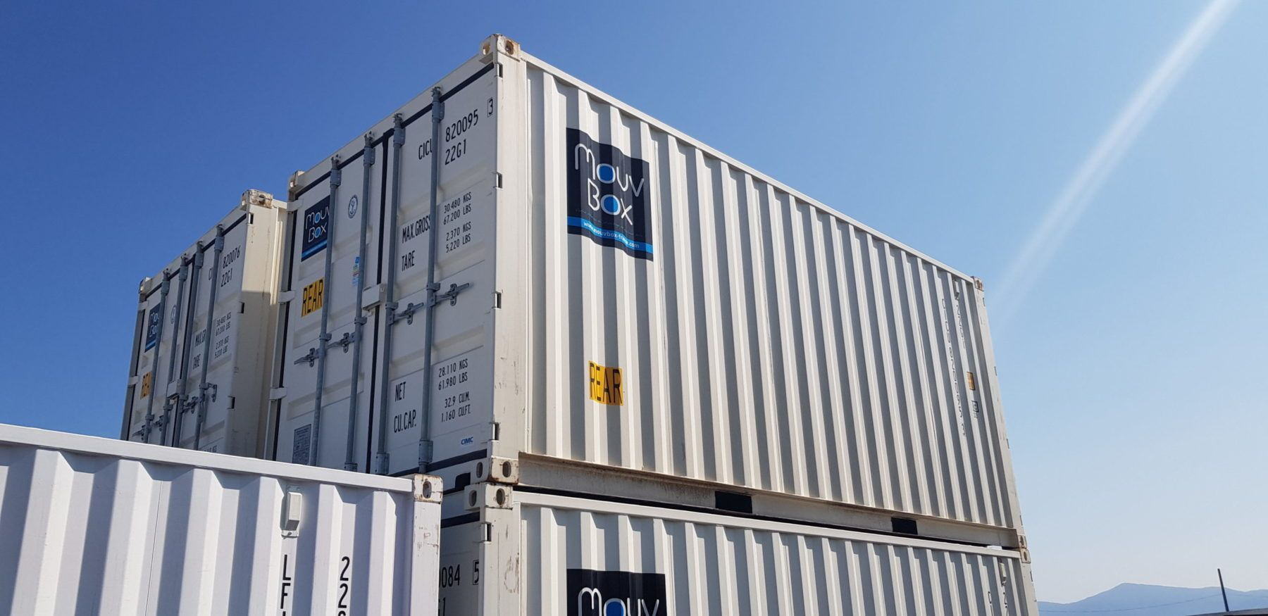 Achat container maritime